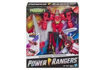 Power Rangers Beast Morphers Beast Racer Converting Zord