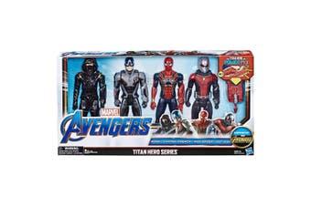 Marvel Avengers Titan Hero Going Subatomic 4 pack