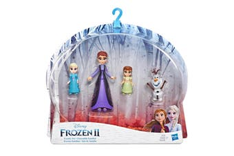 Disney Frozen Family Set Elsa Anna with Queen Iduna Doll and Olaf Figures