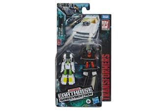 Transformers Earthrise Micromaster WFC-E3 Hot Rod Patrol 2 Pack