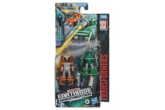 Transformers Earthrise Micromaster WFC-E4 Military Patrol 2-Pack