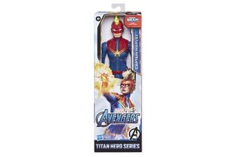 Marvel Avengers Captain Marvel Titan Hero Action Figure