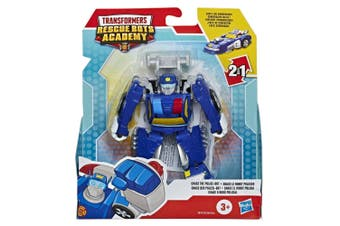 Transformers Rescue Bots Academy Chase The Police Bot