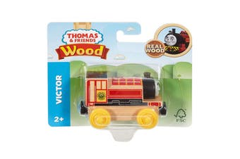 Victor Thomas and Friends Wood Train