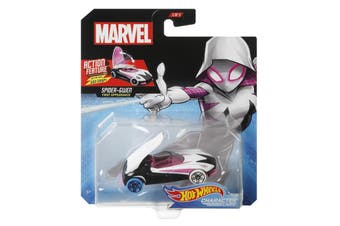 Hot Wheels Marvel Spider Gwen Character Cars