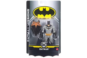 DC Batman Missions Batman Action Figure