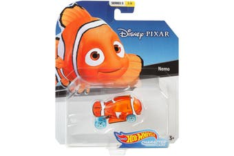 Hot Wheels Disney Pixar Nemo Character Cars