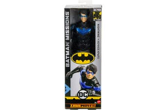 Batman Missions Nightwing True Moves