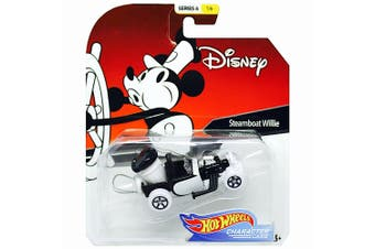 Hot Wheels Disney Steamboat Willie Character Cars Series 6