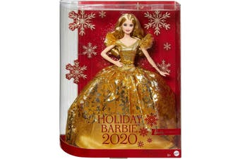 Barbie Signature Holiday Barbie 2020 Blonde Long Hair