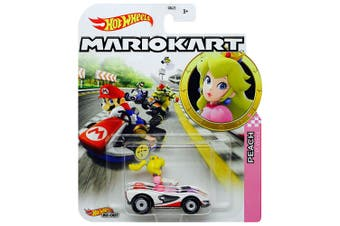 Hot Wheels Mario Kart Peach P-Wing