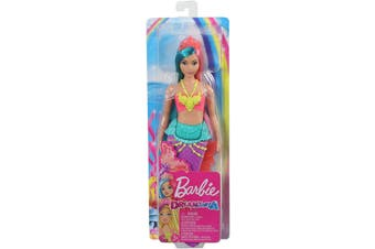 Barbie Dreamtopia Doll Teal and Pink Hair