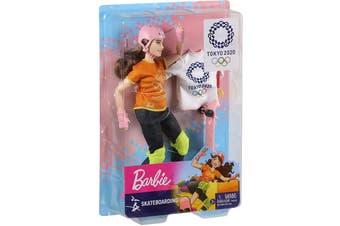 Barbie Olympic Games Tokyo 2020 Skateboarding Doll