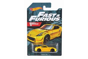 Hot Wheels Fast and Furious 6 Nissan 370Z