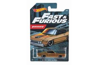 Hot Wheels Fast and Furious 7 '69 Ford Torino Talladega
