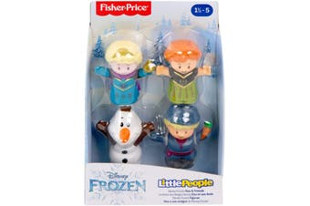 Fisher Price Little People Frozen Figures 4 Pack