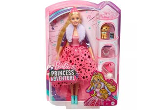 Barbie Princess Adventure Deluxe Doll with Puppy