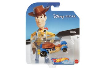 Hot Wheels Disney Pixar Woody Character Cars