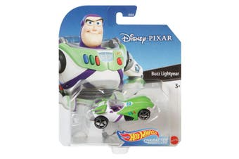 Hot Wheels Disney Pixar Buzz Lightyear Character Cars