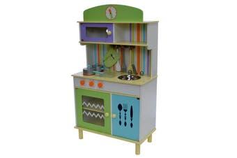 Kitchen in Blue & Green