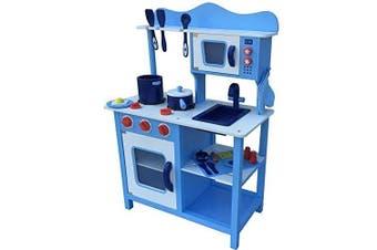 Breakfast Kitchen with Accessories Blue
