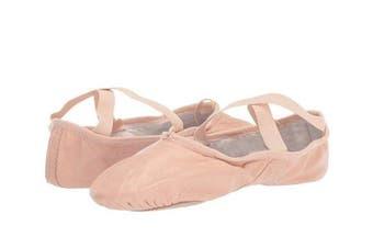 Dance Shoes Ballet Split Sole Leather - Child 13.5 - Ballet Pink