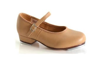 Dance Shoes Tap Shoes Pro Strap Buckle Taps Leather - Tan