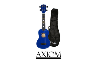Spectrum Soprano Beginner Ukulele - Blue with Bag