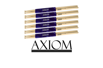 Drumsticks - 7A Maple Wood Tip 6 PACK