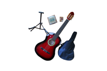 Children's Guitar Pack - 3/4 Size Red