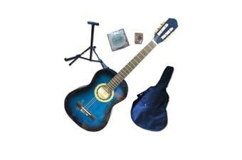 Beginners Guitar Pack - Full Size Blue
