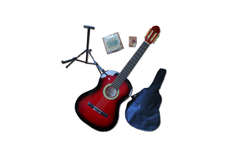 Beginners Guitar Pack - Full Size Red