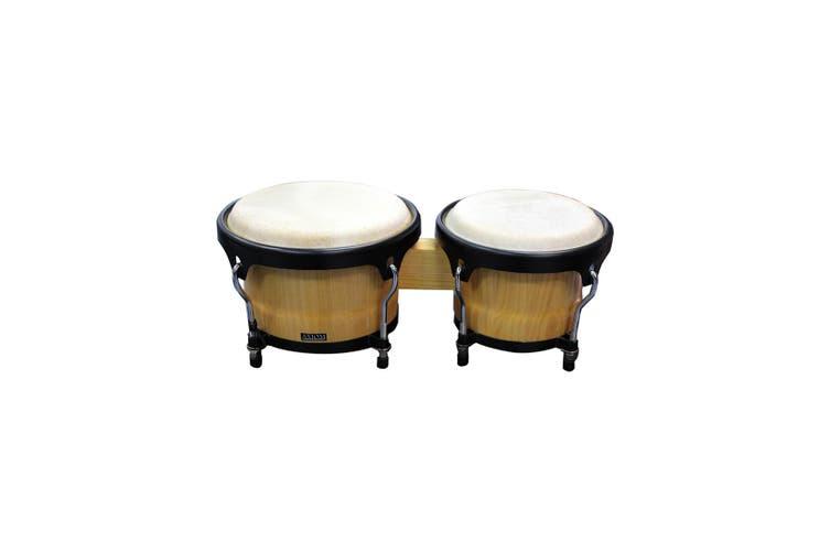 Bongo Drum Set - Natural Finish