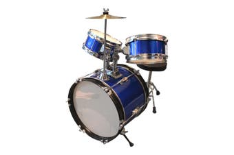 Childrens Drum Set - Blue