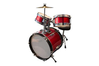 Childrens Drum Set - Red