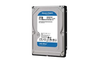 "Western Digital WD Blue 3.5"" 2TB SATA Internal Hard Drive HDD 256MB WD20EZAZ"