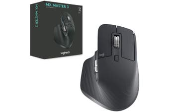 Logitech MX Master 3 Wireless Mouse Graphite 910-005698
