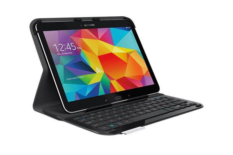 Logitech Ultrathin Keyboard Folio Case for Samsung Galaxy Tab 4 10.1 Black 920-006400