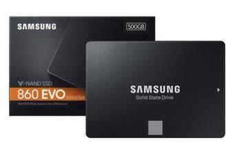 "Samsung 860 EVO 2.5"" SATA 500GB Internal Solid State Drive SSD MZ-76E500BW"