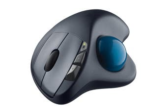 Logitech M570 USB Optical Ergonomic Wireless Trackball Mouse for Desktop PC Mac