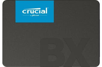 """Crucial 540MB/s SATA 2.5"""" 120GB Internal SSD BX500 Laptop & PC Solid State Drive"""