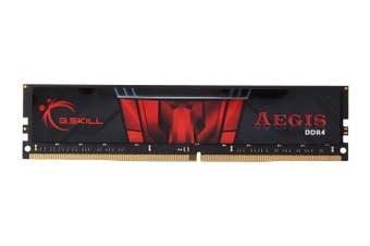 G.Skill Aegis 16GB (1x16GB) DDR4 2400MHz C15 Computer PC Memory RAM Kit