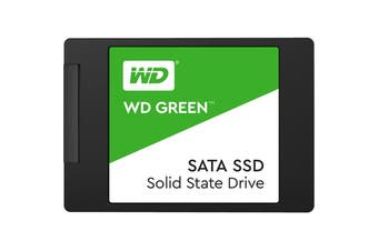 "Western Digital 120GB SSD 2.5"" SATA III 3D NAND Green Solid State Drive WDS120G2G0A"