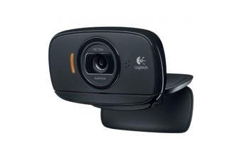 Logitech C525 720P HD USB WideScreen Webcam Noise Reducing Mic PC Mac Laptop