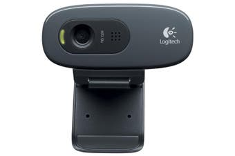 Logitech C270 Laptop or Desktop Webcam HD Built-in Noise Reducing and Widescreen
