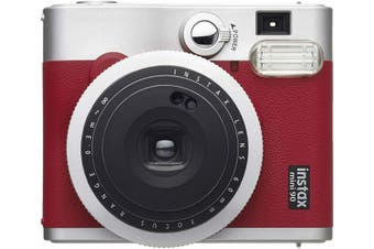 Fujifilm Instax Mini 90 Neo Classic Red Instant Camera