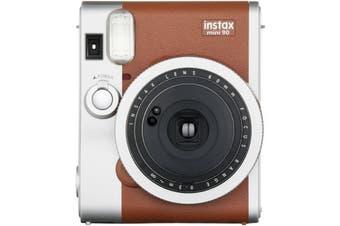 Fujifilm Instax Mini 90 Neo Classic Brown Instant Camera