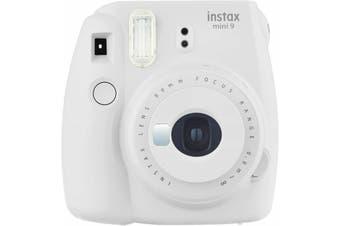 Fujifilm Instax Mini 9 Smoky White FF87001 Instant Camera