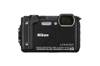 "Nikon COOLPIX W300 Digital Camera Black Waterproof/Rugged 1/2.3"" 16 MP 4K GPS"
