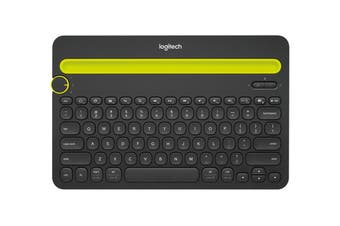 Logitech K480 Multi-Device Bluetooth Keyboard Black 920-006380